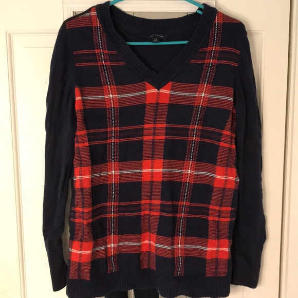 Tommy Hilfiger plaid sweater